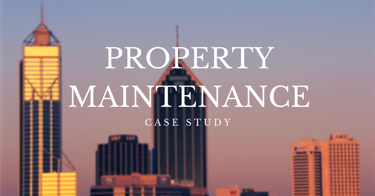 Newcastle SEO property maintenance client case study