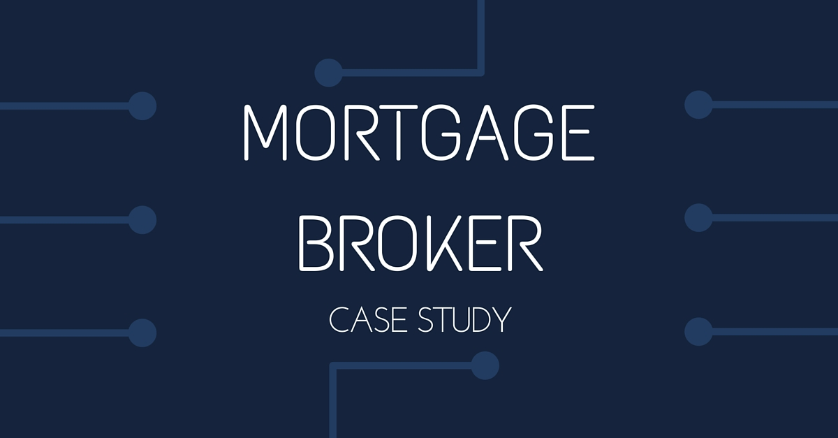 a seo case study for our new mortgage broker client