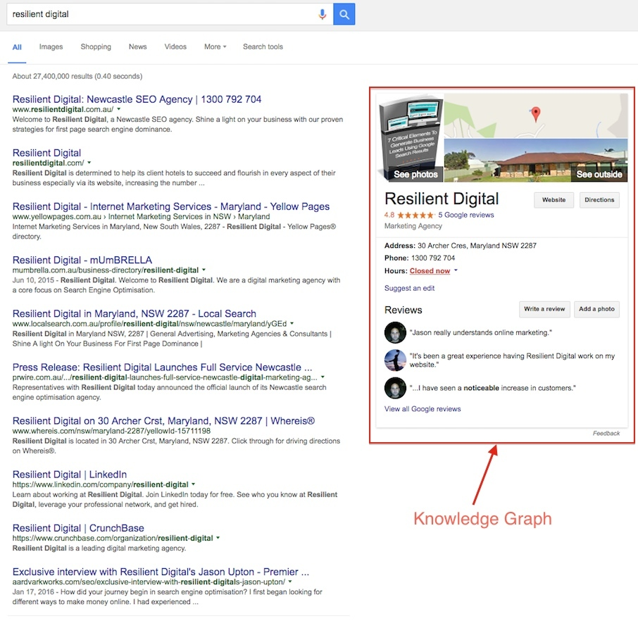 resilient digital knowledge graph