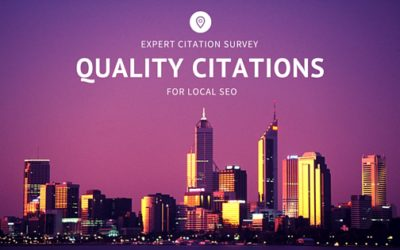 Quality Citations For Local SEO | Expert Citation Survey